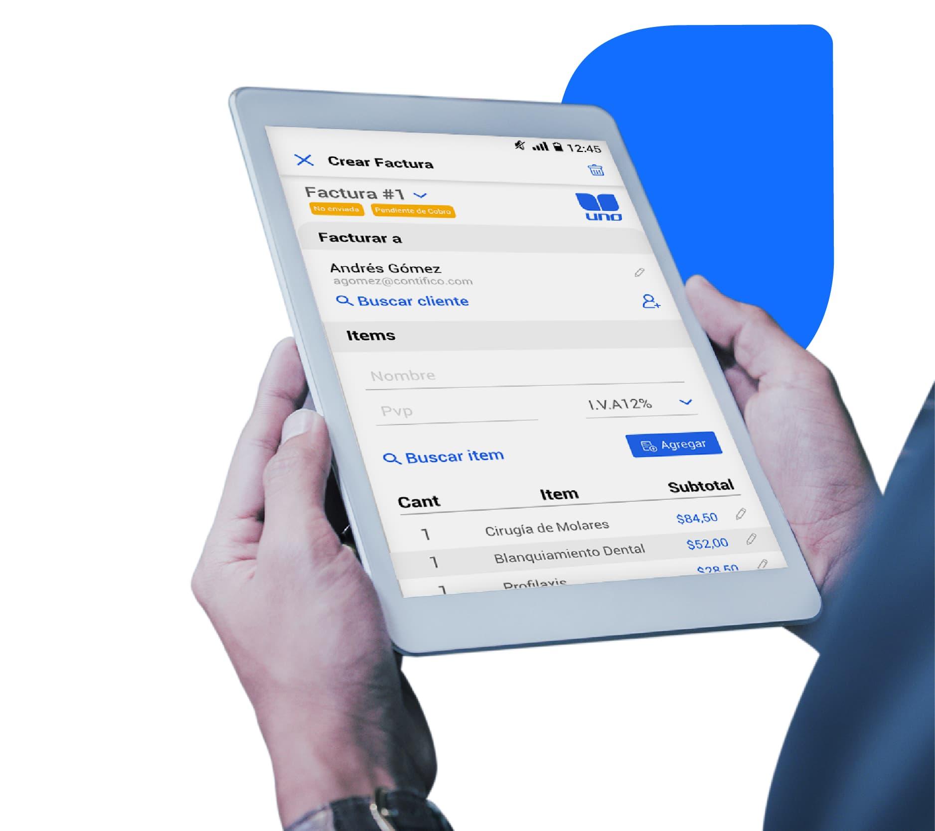 app de facturacion electronica